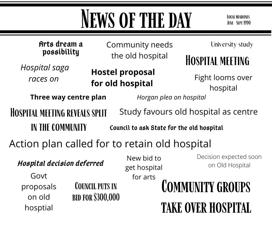 Save the hospital headlines